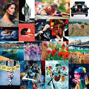 亞洲規模最大「2018國際藝術家大獎賽」87國4546件作品競逐首獎