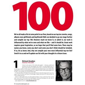 【新聞特報】100 位至今最有影響力的攝影家