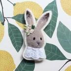 【雜貨系】針氈 / 來自英倫田園的清新小兔