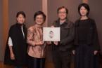 台灣第一個文化創投贊助獎項「銅鐘藝術賞」由藝術家許家維榮獲