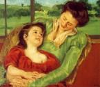 〈新月.藝術史經典大師〉印象主義先驅女畫家 - 莫涵與卡莎特